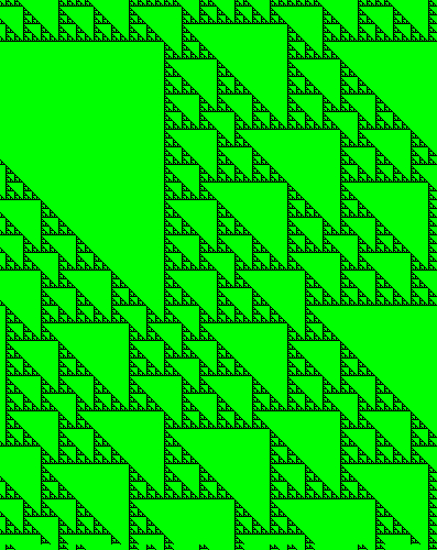 Wolfram Cellular Automaton screenshot
